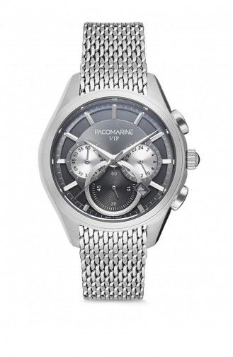 Silver Gray Watch 88002.07