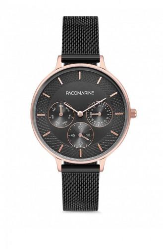 Black Wrist Watch 88003.04
