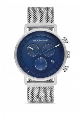 Silver Gray Wrist Watch 88004.04