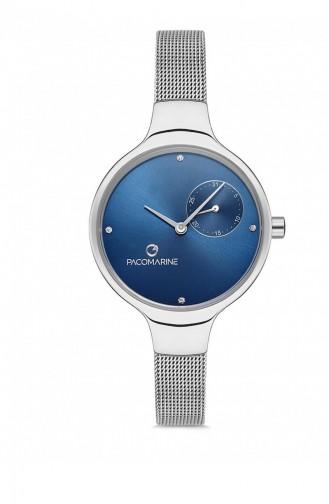 Silver Gray Wrist Watch 88005.01