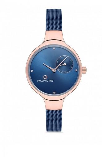 Navy Blue Wrist Watch 88005.04