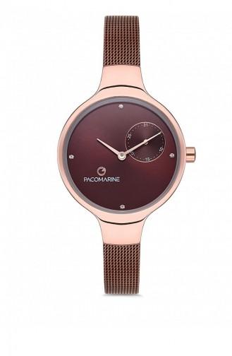 Claret Red Wrist Watch 88005.05