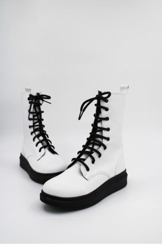White Boots-booties 00195.BEYAZ