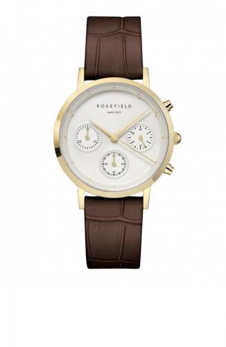 Brown Wrist Watch 93