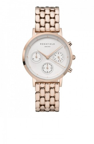 Rose Tan Wrist Watch 91