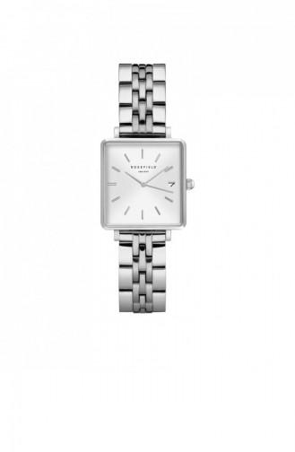 Silver Gray Wrist Watch 020