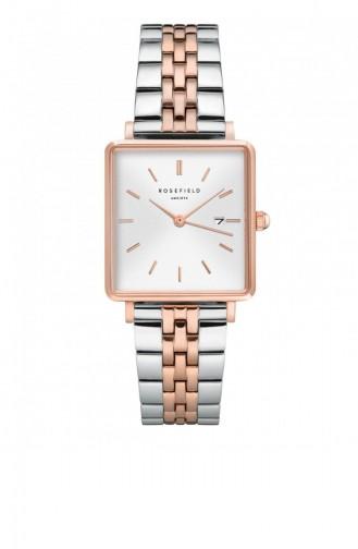 Silver Gray Wrist Watch 014
