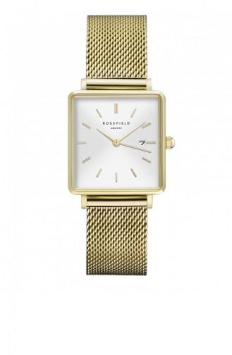 Golden Yellow Watch 03