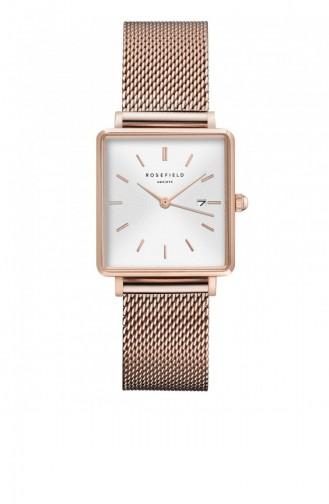 Rose Tan Wrist Watch 01