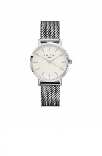 Silver Gray Wrist Watch 52