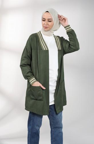 Grün Jacke 0303-02