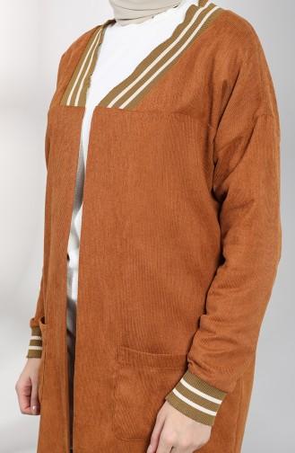Tobacco Brown Jacket 0303-03