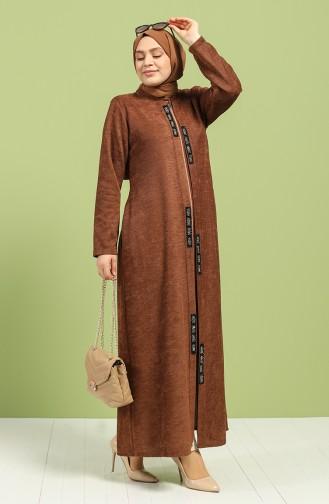 Tobacco Brown Abaya 0106A-01