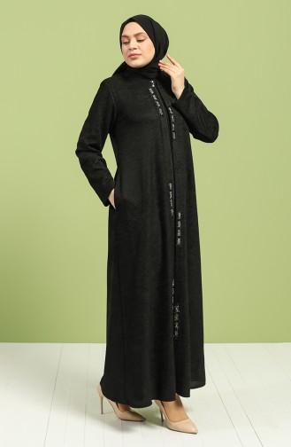 Black Abaya 0106A-04