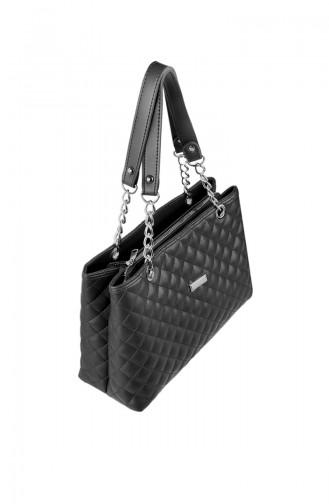 Black Shoulder Bags 8001-01