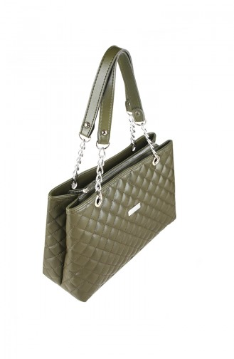 Green Shoulder Bag 8001-07