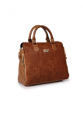 Tobacco Brown Shoulder Bag 38Z-05