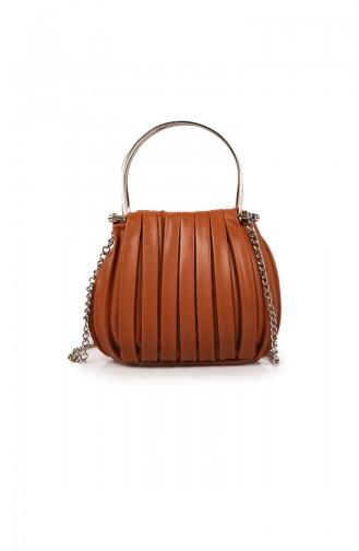 Tobacco Brown Shoulder Bag 62Z-03