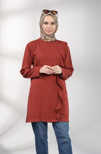 قميص رياضي قرميدي 20070-06