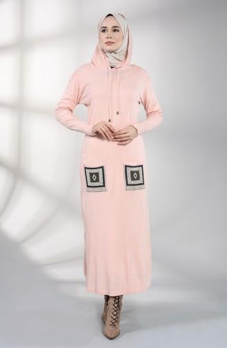 Robe Hijab Poudre 6002-05