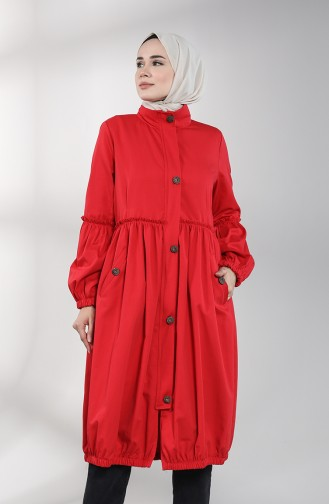Red Trench Coats Models 1350-06