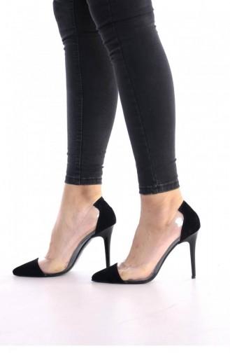 Black High-Heel Shoes 00177.SIYAHSUET