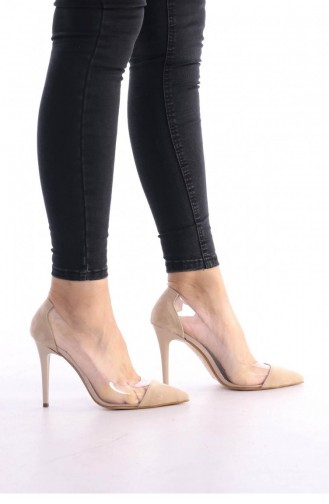 Chaussures a Talons Couleur de teint 00177.TEN