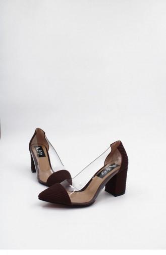Claret Red High-Heel Shoes 00176.BORDO