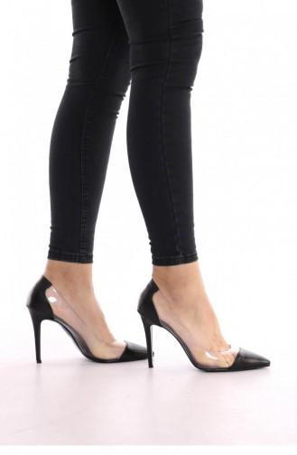 Black High-Heel Shoes 00430.SIYAHCILT