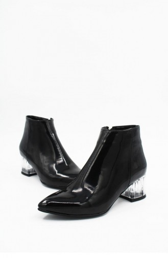 Black Boots-booties 00220.SIYAHRUGAN