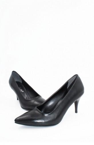 Black High-Heel Shoes 00253.SIYAHCILT