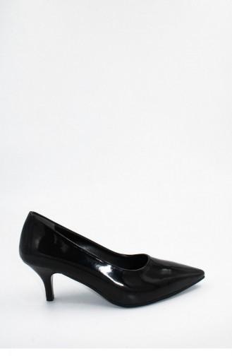 Black High-Heel Shoes 00256.SIYAHRUGAN