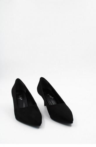 Black High-Heel Shoes 00256.SIYAHSUET