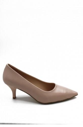 Skin Color High-Heel Shoes 00256.TENCILT