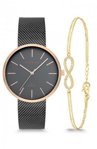 Smoke-Colored Wrist Watch 700LXVJMJ