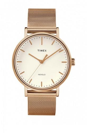 Rose Tan Wrist Watch 2R26400