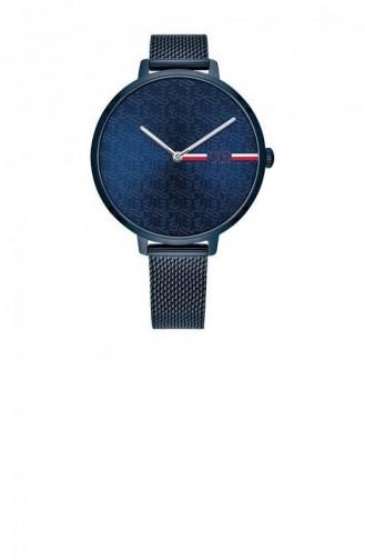 Navy Blue Wrist Watch 1782159
