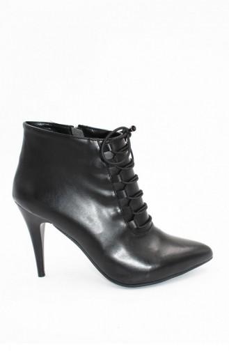 Black High-Heel Shoes 00252.SIYAHCILT