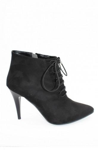 Black High-Heel Shoes 00252.SIYAHSUET