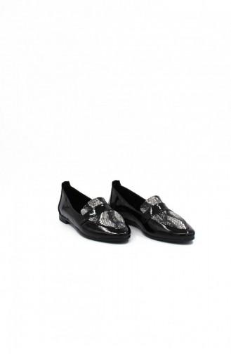 Black Casual Shoes 00207.SIYAHCILT