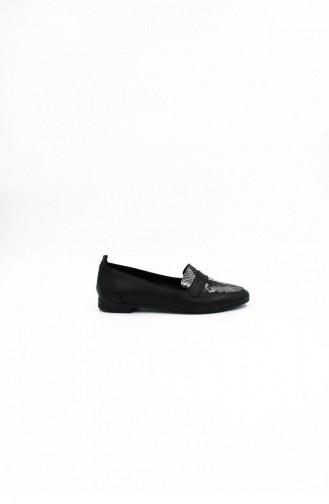 Black Casual Shoes 00207.SIYAHRUGAN