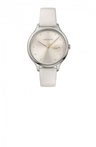 White Wrist Watch 2001005