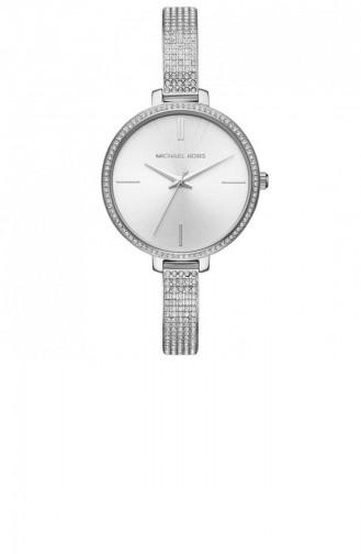 Silver Gray Wrist Watch 3783