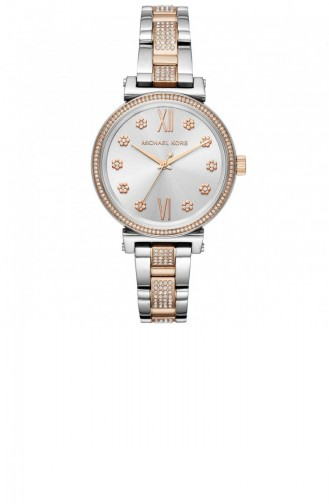 Silver Gray Wrist Watch 3880