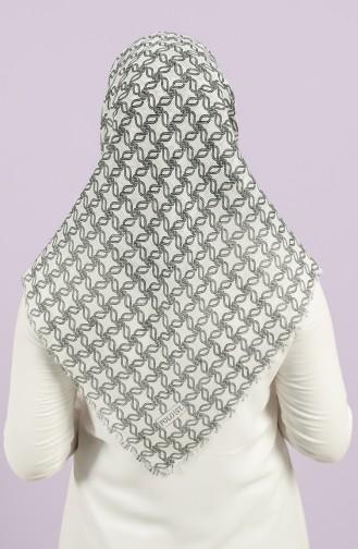 Weiß Kopftuch 2968-16