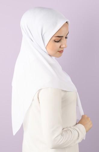 White Scarf 15214-18