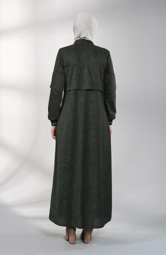 Abayas Vert emeraude 0131-01