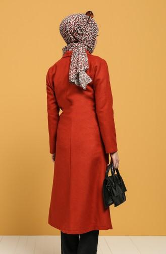 Tile Long Coat 6040-02