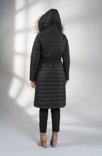 Manteau Noir 5095-05