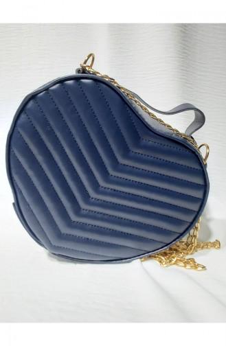 Navy Blue Shoulder Bag 10113-04